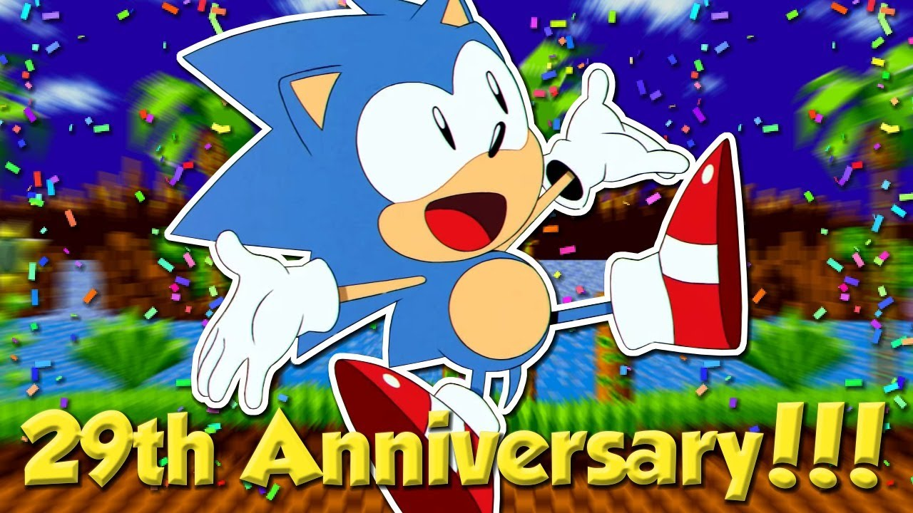 Let's Celebrate Sonic's 29th Anniversary!!! (Sonic 1, Sonic 2, & Sonic Mania Playthrough)