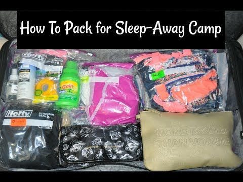 How to Pack for Summer Sleep Away Camp | Suitcase & Carry On