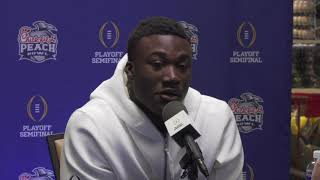 OU Football - Kenneth Murray Peach Bowl press conference
