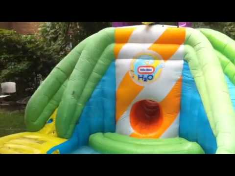 Little Tikes H20 Water Park - YouTube H2o Water