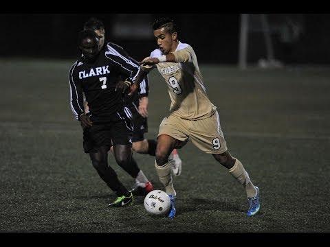 2013 NWAAC Men's Soccer Final Clark vs Peninsula (Highlights)