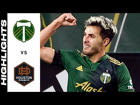 Portland Timbers Houston Goals And Highlights