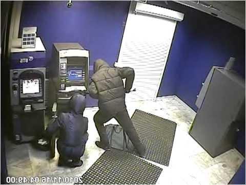Взлом ВТБ банкомата в чите
