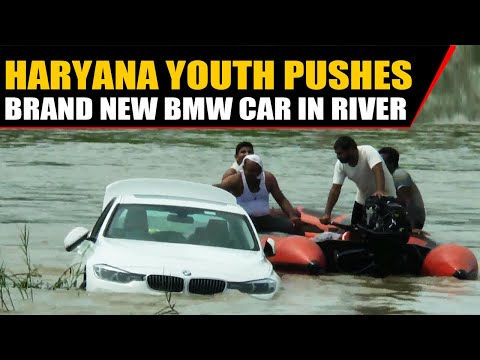 The Stansbury Show - Ungrateful son pushes his new BMW into the river