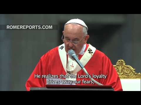 Pope to archbishops for Feast of Sts. Peter and Paul: Don't waste your time in useless gossip
