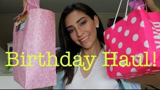 Birthday Haul 2014 ! | AdrianneViz Thumbnail