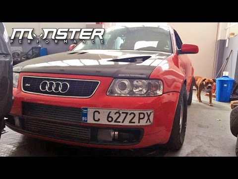 Audi S3 Fastest Street Legal Car in Bulgaria by Monster Performance | Autokinisimag