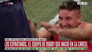 Los Espartanos: el equipo de rugby que nació en la cárcel
