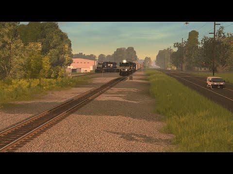 Trainz A New Era : Railfanning The NS Birmingham East End District  