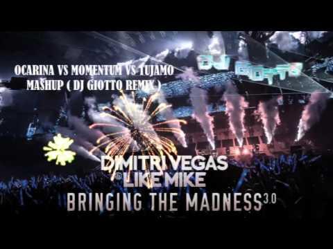 Dimitri Vegas & Like Mike - Ocarina vs Momentum vs Tujamo (Mashup Dj GIOTTO) Remix