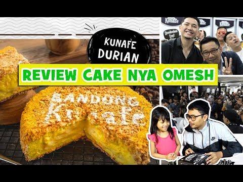 Bedah Kuliner - Review BANDUNG KUNAFE Cakenya Omesh ??!! Bareng Zelda Zia