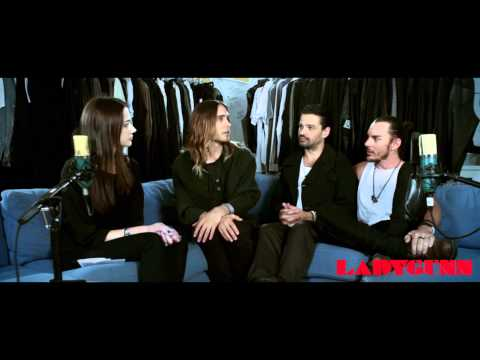 30 Seconds to Mars |  Interview for LADYGUNN