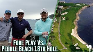 Fore Play Vs. the 18th Hole at Pebble Beach Presented by Philips Norelco