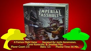 Imperial Assault Setup & Overview