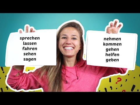 The 10 Most Important German Verbs with excerises - part 2
