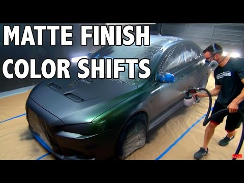 Matte Finish Color Shifting - Experimental Spray