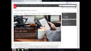 Using Adobe Digital Editions