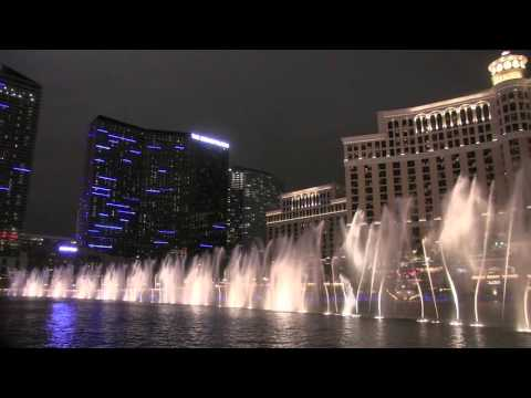 Bellagio Fountains - Uptown Funk (Night)