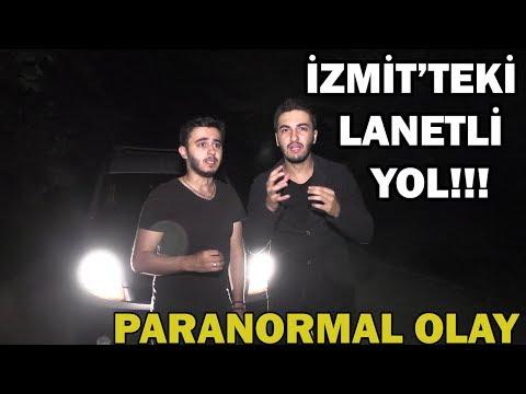 İZMİT'TE BULUNAN LANETLİ YOLDA KORKUNÇ ANLAR YAŞADIK!! (Youtube'da İlk Kez) #paranormalolay