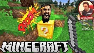 Ölümüne Takip | Minecraft Türkçe Şans Blokları Hunger Games | Bölüm 9