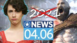 God of War Ragnarok kommt nicht mehr dieses Jahr - News