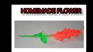 Paper craft - flower stick| By Aayush Garg|cute moksh and creativity
