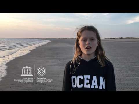 Johannes #MyOceanPledge Wadden Sea World Heritage marine site
