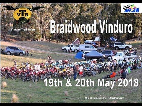 Vinduro VTR at  Braidwood  2018