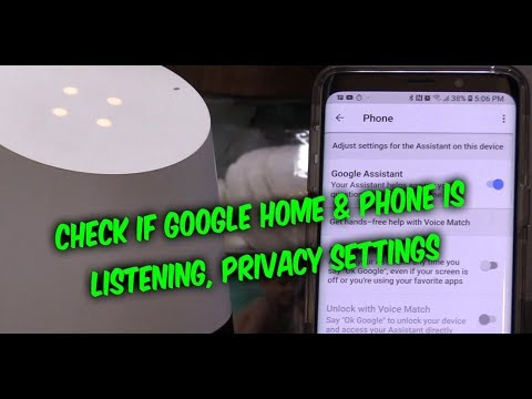 RESET Google Home Speaker / Android Assistant Phone History Recordings