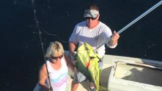 Mahi Mahi fishing in the Florida Keys with Jim Sharpe