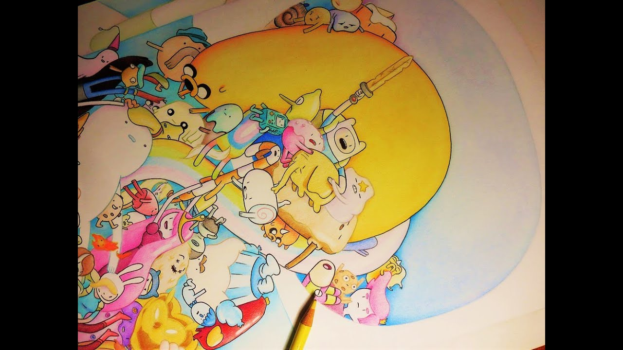 DRAWING ADVENTURE TIME CHARACTERS ADVENTURE TIME FAN ART ...
