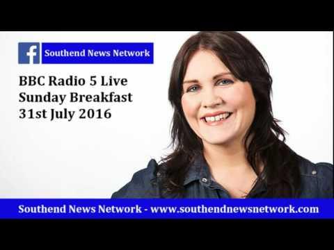 BBC Radio 5 Live presenter falls for SPOOF Southend News Network story