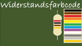 Erklärung des Widerstandsfarbcodes mit Eselsbrücken