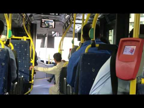 stadium metro to damascus street3 in bus - part2