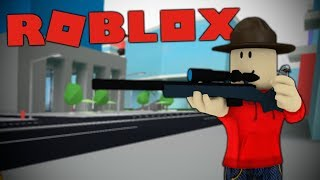 FLEEING FROM PRISON IN ROBLOX!