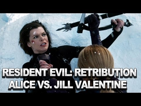 Resident Evil Retribution 3d It Will Be Enough Clip Featuring Alice Vs Jill Valentine Youtube