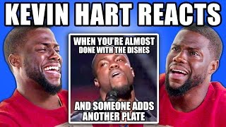 KEVIN HART REACTS TO KEVIN HART by : Fine Brothers Entertainment