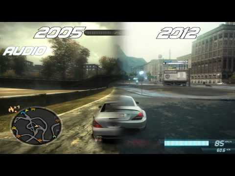 NFS Most Wanted (2005) vs NFS Most Wanted (2012)