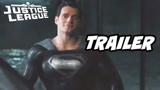 Superman Black Suit Scene Explained - Justice League Snyder Cut Trailer 2021 Easter Eggs