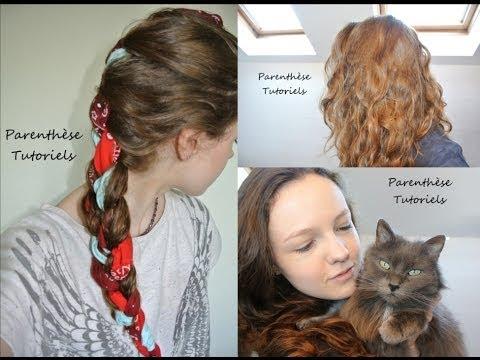 Effet wavy cheveux sans fer