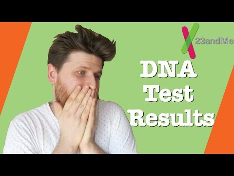 White Guy's DNA Test Results   23andMe
