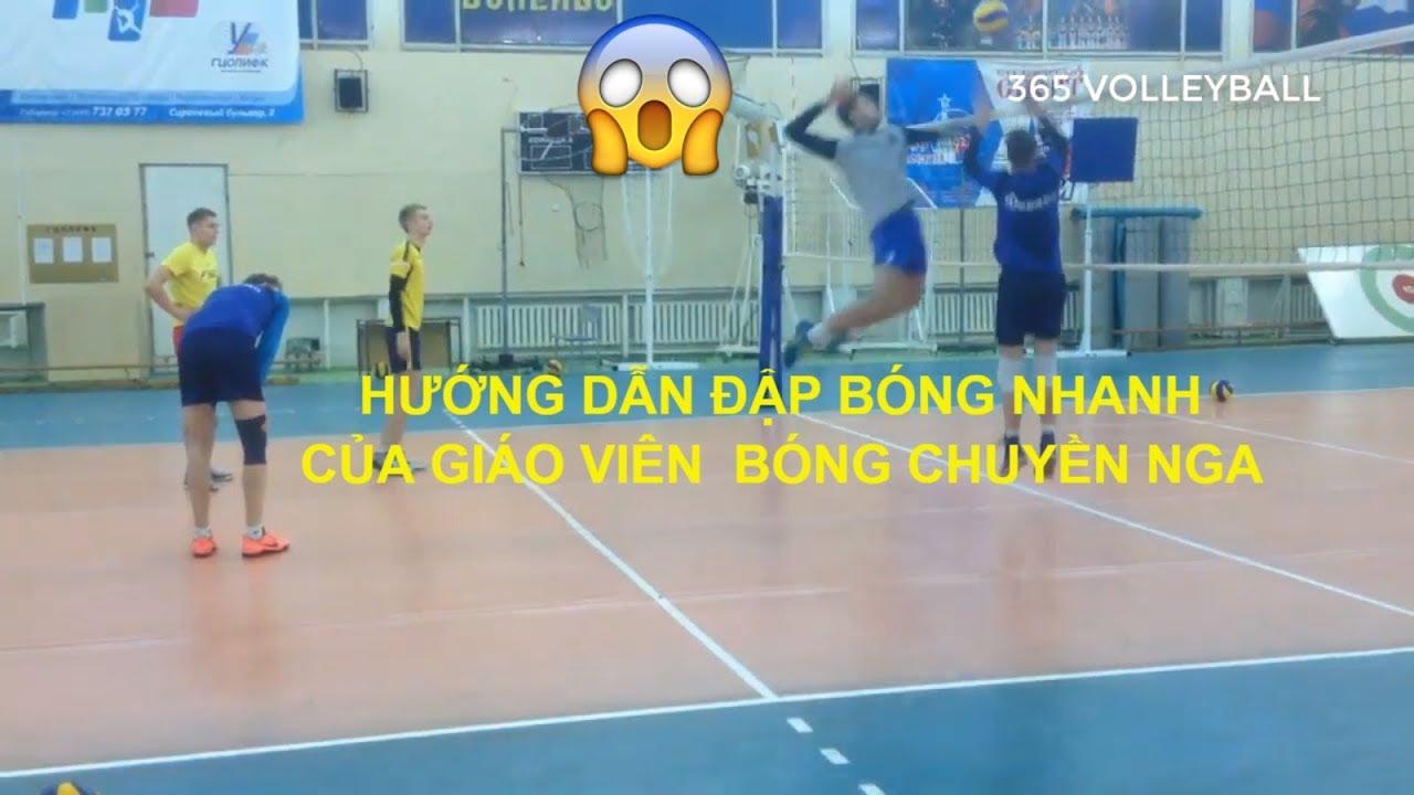 CÁCH VÀO ĐÀ ĐẬP BÓNG NHANH TRONG BÓNG CHUYỀN | volleyball videos