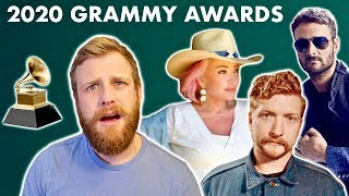 2020 GRAMMY Nominations - Country Music Picks, Predictions, & Snubs