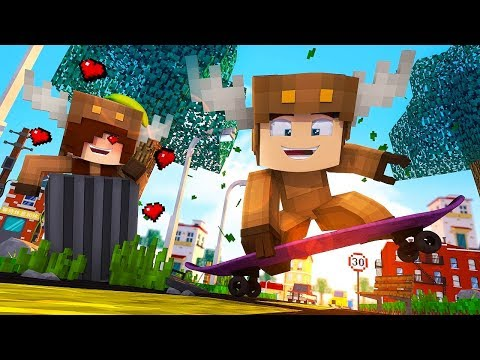Minecraft Daycare - BACK TO SCHOOL! w/ MooseCraft! (Minecraft Kids Roleplay) (Episode 1)