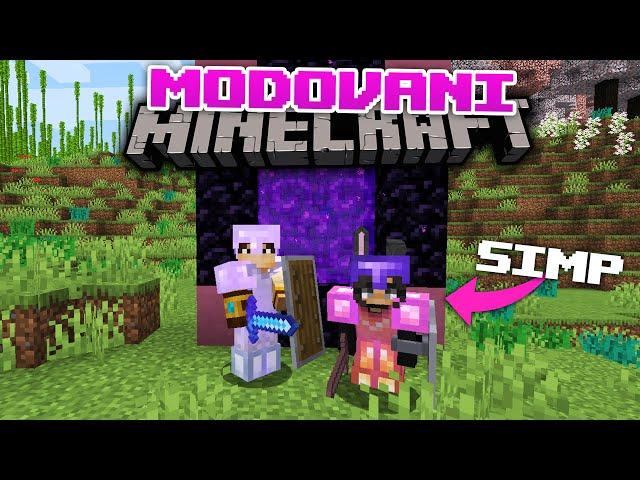 Modovano Minecraft Prezivljavanje E4- IDEMO U NETHER