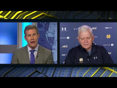 2017 Big Ten Hockey Week: Notre Dame Head Coach Jeff Jackson