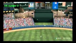 MLB 11 The Show Road to the Show Highlight Reel Thumbnail