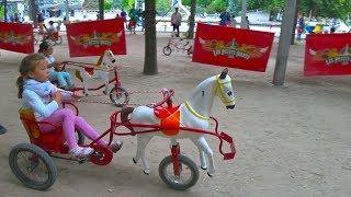 Париж #4  Развлечения для детей. Играем на детской площадке Outdoor playground