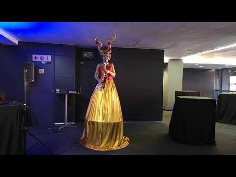 Horned Sax Queen