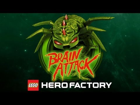 LEGO® Hero Factory Brain Attack - Universal - HD Gameplay Trailer